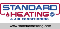 standard heating advert page